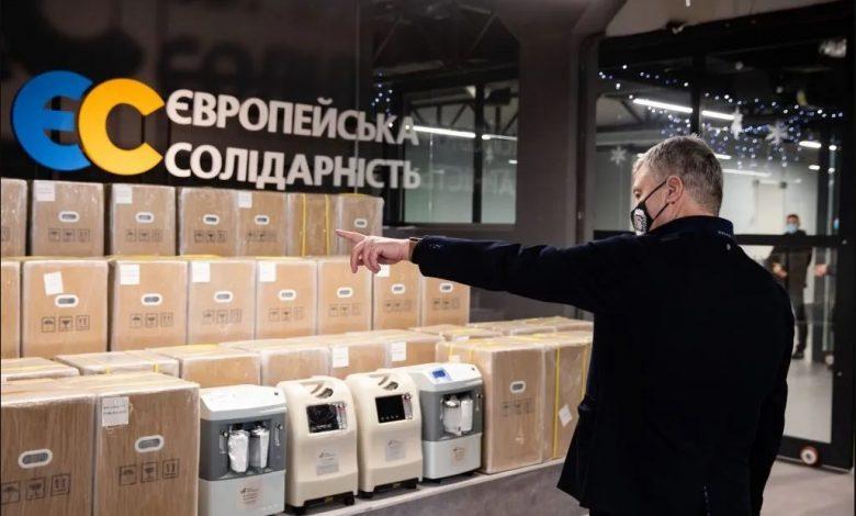 Ще 20 кисневих концентраторів зі США прибули в Україну - Порошенко