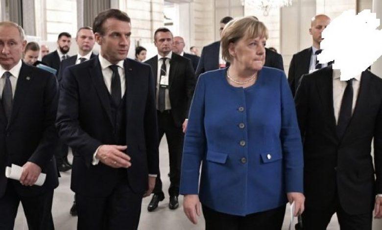 Меркель, Макрон і Путін обговорили ситуацію на Донбасі. Зеленського не запросили
